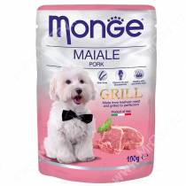 Пауч Monge Dog Grill Pouch (Свинина), 100 г