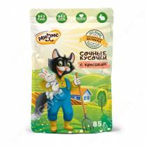 Паучи Мнямс Кот Федор Фермерская ярмарка, кролик, 85 г