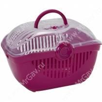 Переноска Moderna Toprunner, 29 см*39 см*25 см, розовая