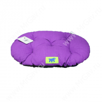 Подушка Ferplast Relax С45, 48 см*32 см*5 см, серо-фиолетова