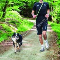 Поводок для пробежки Trixie, 180 см*20 см, серо-зеленый