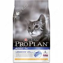 Pro Plan Adult Cat 7+ (Курица), 0,4 кг
