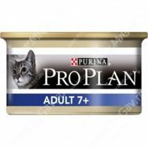 Pro Plan Adult Cat 7+ (Тунец), консерва