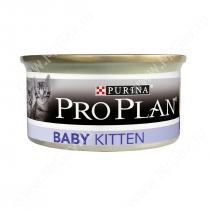 Pro Plan Baby Kitten (Курица), консерва, 85 г
