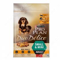Pro Plan Duo Delice Small&Mini (Говядина и рис)
