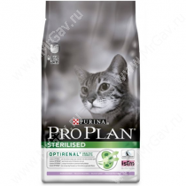 Pro Plan Sterilized Cat (Индейка), 0,4 кг