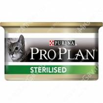 Pro Plan Sterilized Cat (Тунец), консерва