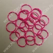 Резинки Milton комбо, розовые, 10 шт.