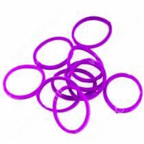 Резинки Milton яркие, фиолетовые, 10 шт.