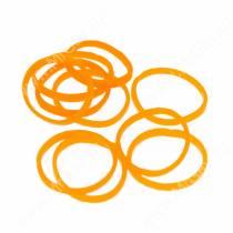 Резинки Milton яркие, оранжевые, 10 шт.