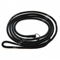 Ринговка-удавка круглая, 120 см*0,6 см, черная