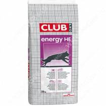 Royal Canin Club Energy HE, 20 кг