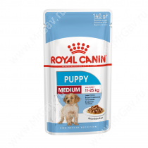 Royal Canin Medium Puppy, 140 г