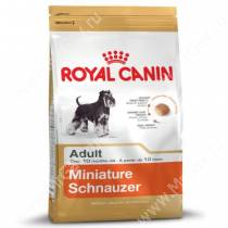 Royal Canin Miniature Schnauzer, 7,5 кг