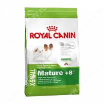 Royal Canin X-Small Mature +8, 1,5 кг