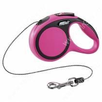 Рулетка Flexi  New Comfort, XS, до 8 кг, 3 м, розовая