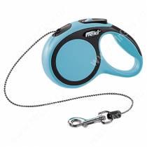 Рулетка Flexi New Comfort, XS, до 8 кг, 3 м, синяя