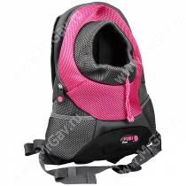 Рюкзак Crazy Paws, S, до 3 кг, розовый
