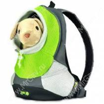 Рюкзак Crazy Paws, S, до 3 кг, зеленый