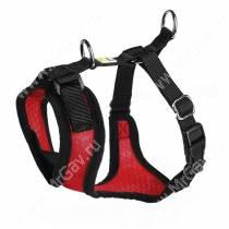 Шлейка для собак Hunter Manoa M,  44-55 см, нейлон, красная