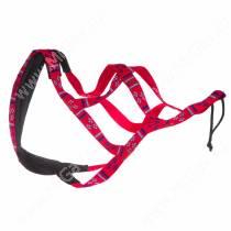 Шлейка ездовая Dream Sled Dog  3, L, красный с рисунком
