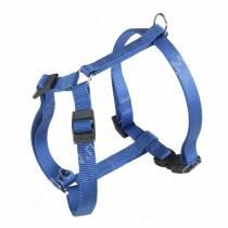 Шлейка нейлоновая Ferplast Champion, 52-80, 60-98*2,5 см, синяя