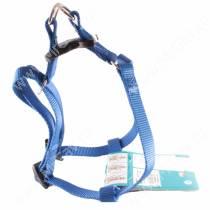 Шлейка нейлоновая Ferplast Easy, 42-60 см*1,5 см, синяя