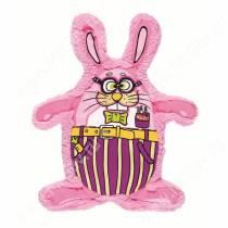 Скрипящий бобр Fat Cat Squeak-a-zoids Dog Toys, розовый