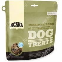 Сублимированное лакомство для собак Acana Yorkshire pork, 35 г