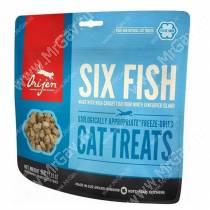 Сублимированное лакомство Orijen Cat 6 Fish, 35 г
