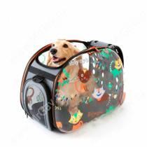 Сумка-переноска Ibiyaya, прозрачная дизайн Cats&Dogs