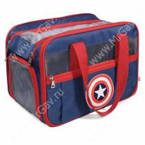Сумка-переноска Triol Marvel Капитан Америка, 45 см*32 см*23 см