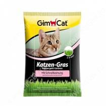 Травка для кошек быстропрорастающая GimPet Katzen-Gras, 100 г