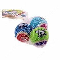 Три мяча GiGwi с пищалкой 4 см