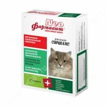 Витаминно-минеральный комплекс Фармавит Neo для кошек старше 8 лет