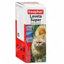 Витамины Beaphar Laveta super для кошек, 50 мл