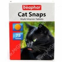 Витамины Beaphar Cat snaps, 75 шт