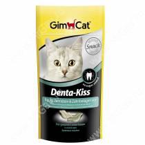 Витамины для кошек Gimcat Denta-Kiss для зубов, 40 шт.