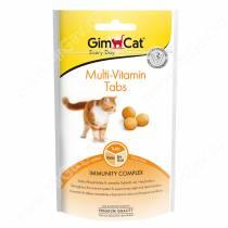Витамины для кошек GimCat Multi-Vitamin Tabs, 40 г