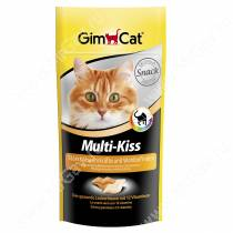Витамины для кошек Gimcat Multy-Kiss поцелуйчики таурин, 40 г