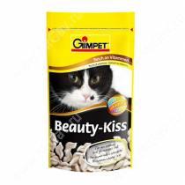 Витамины для кошек Gimpet Beauty-Kiss, цинк + биотин, 65 шт.