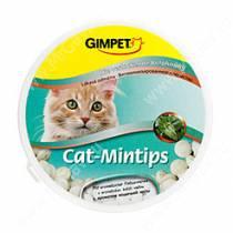 Витамины для кошек Gimpet Cat-Mintips, кошачья мята, 90 шт.