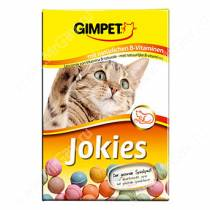 Витамины для кошек Gimpet Jokies, разноцветные шарики, 50 шт.
