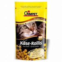 Витамины для кошек Gimpet Kase-Rollis, сырные шарики, 50 г