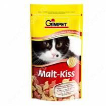 Витамины для кошек Gimpet Malt-Kiss, солод, 65 шт.