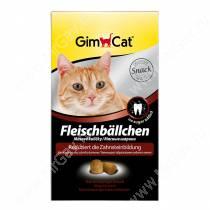 Витамины для кошек Gimpet Мясные шарики для чистки зубов, 100 г