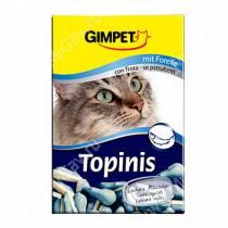 Витамины для кошек Gimpet Topinis, мышки форель + таурин 70 шт.
