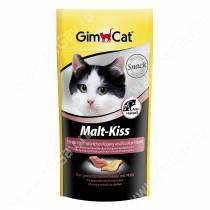 Витамины GimCat Malt-Kiss поцелуйчики с солодом, 40 г