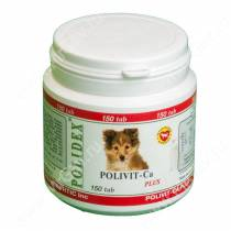 Витамины Polidex Polivit-Ca plus (Поливит-Кальций плюс) для собак