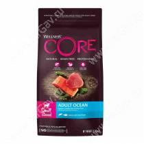 Wellness Core для взрослых собак мелких пород из лосося с тунцом, 1,5 кг